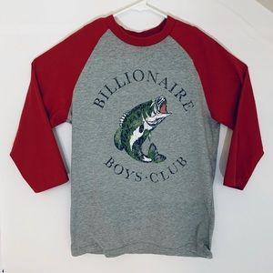 Billionaire Boys Club Shirt Raglan Baseball Fishin